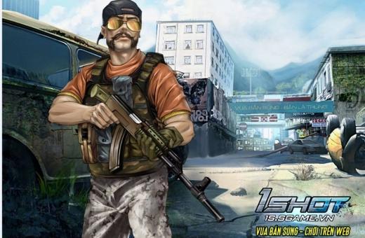 Webgame bắn súng 1Shot sẽ ngừng phát hành vào ngày 20/09/15